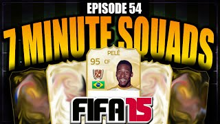 One of Jack54HD's most viewed videos: Pelé 7 MINUTE SQUAD BUILDER!! - FIFA 15 ULTIMATE TEAM