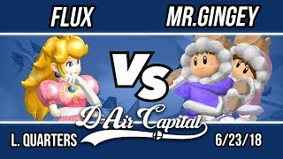 D-Air Capital 6 - Flux (Peach) Vs. Mr.Gingey (Ice Climbers) - L. Quarters