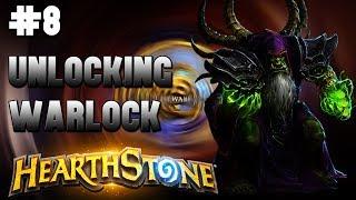 🎮HearthStone - Gameplay #8🎮 Unlocking Warlock