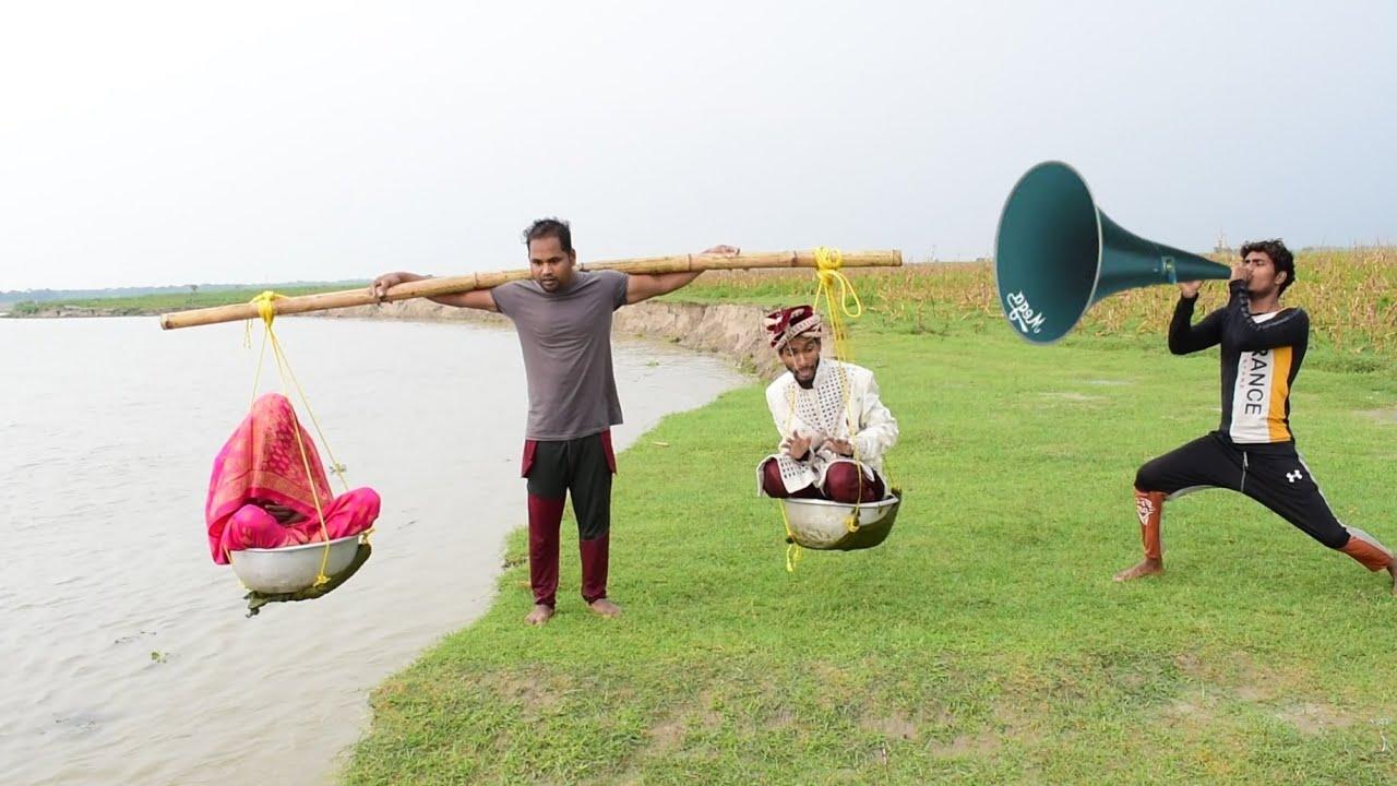 Amazing Comedy Video 2021 Must Watch Funny Video 2021 By Bindas fun bd