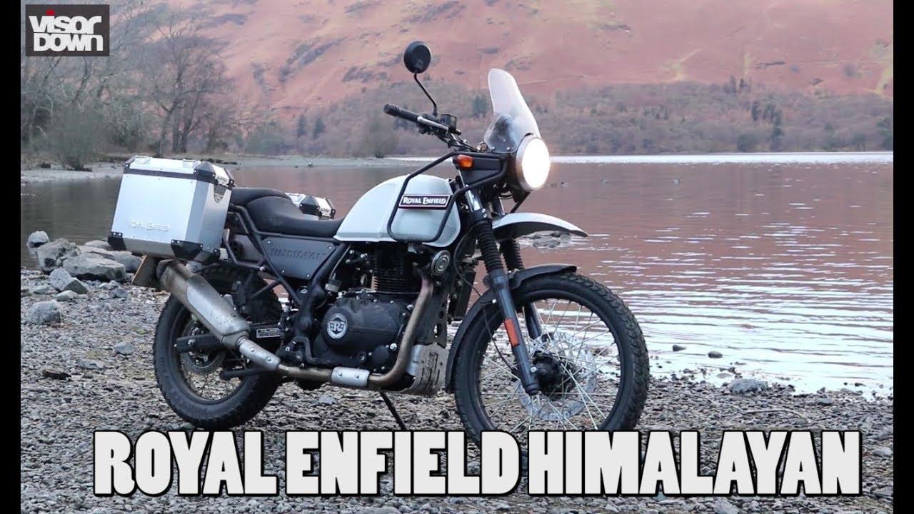 2018 Royal Enfield Himalayan Visordown Road Test Youtube