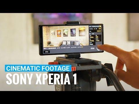 Sony Xperia 1 Cinematic Video   Cinema Pro app