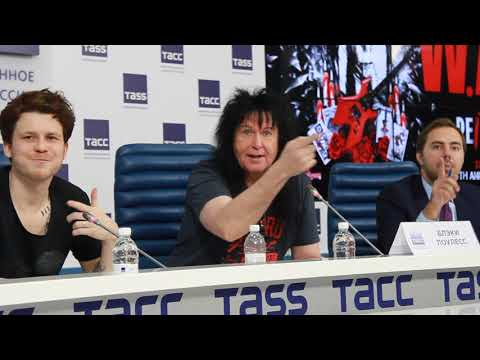 Blackie Lawless - 2017 - W.A.S.P. - Press Conference, Moscow (Interview) - 2