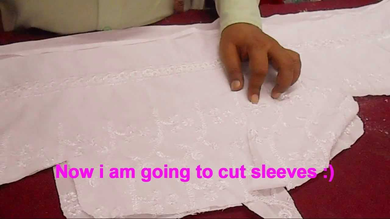Simple Salwar Kameez Cutting Method-Easy And Quick Kameez Cutting Tutorial