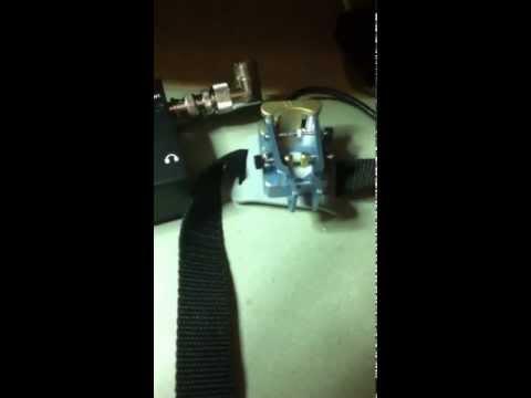 KX-1 and American Morse Paddle Key
