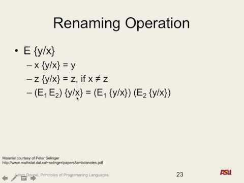 """CSE 340 F16: 11-16-16 """"Lambda Calculus Pt. 3"""""""