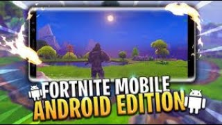 《 HOW TO DOWNLOAD AND INSTALL FORTNITE ANDROID UPDATED 2019 》