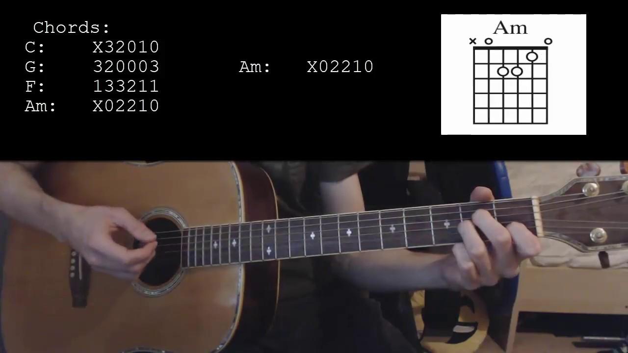 Kygo Stranger Things Ft Onerepublic Easy Guitar Tutorial Youtube