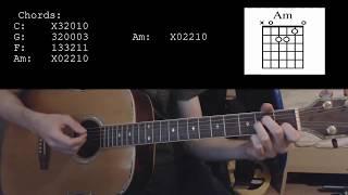 Kygo - Stranger Things ft. OneRepublic EASY Guitar Tutorial