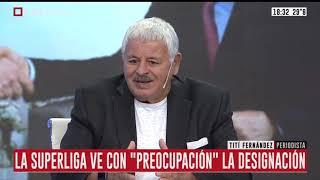 Tití Ferández sobre el nombramiento de Macri en la FIFA