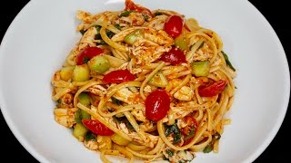 Pasta Salad with Chicken with Michael's Home Cooking