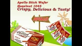 Apollo Stick Wafer Hazel 1045 | Hanyaw Malaysia Export To Philippines