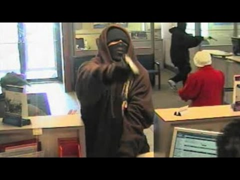 10 CRAZY Bank Robberies Caught On Tape