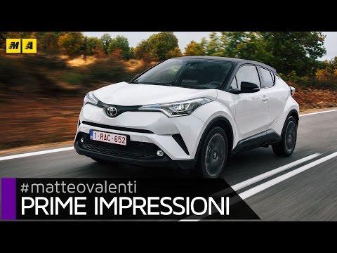 Toyota C-HR   Primo test [ENGLISH SUB]