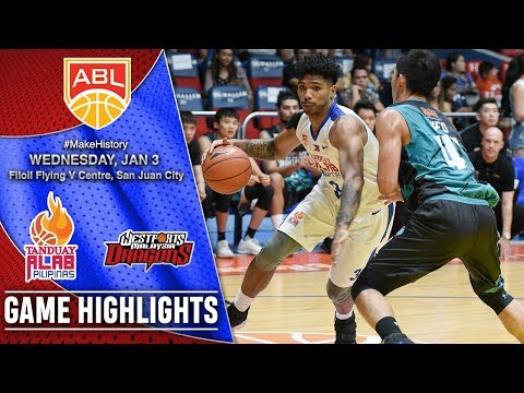 Tanduay Alab Pilipinas vs Westports Malaysia Dragons | Game 23 Highlights | January 3, 2018