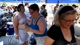 BODYPAINTING  DAY  2018  NYC  (2)