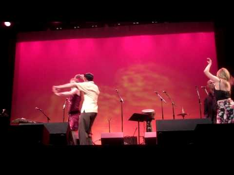 oscar and marina SALSA DANCING live at the wheeler opera house