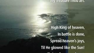 Be Thou My Vision with Lyrics - Ancient Irish HYMN - Visual Worship !