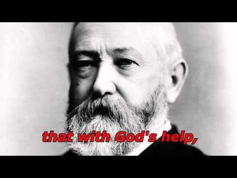 Benjamin Harrison: Oldest Presidential Recording ~1889 AUDIO IMPROVED
