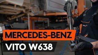 Hoe een schokdemper achteraan vervangen op een MERCEDES-BENZ VITO 1 (W638) [AUTODOC-TUTORIAL]