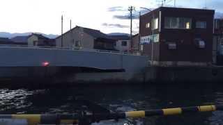 富山県黒部市生地の生地中橋