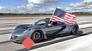 10 Siêu Xe Nhanh nhất thế giới hiện nay 2018