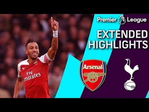 Arsenal V. Tottenham | PREMIER LEAGUE EXTENDED HIGHLIGHTS | 12/02/18 | NBC Sports