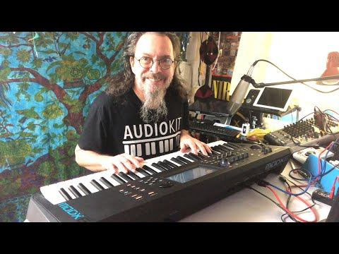 Yamaha MODX - KAPro 007 VP1 Favourites Pack Demo - Live