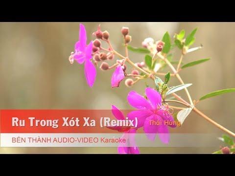 KARAOKE NHẠC TRẺ 2018 | Ru Trong Xót Xa (Remix) - St. Thái Hùng | Beat Chuẩn