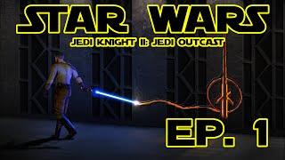 """Star Wars Jedi Knight II: Jedi Outcast odc. 1 """"Wyrzutek Jedi"""""""