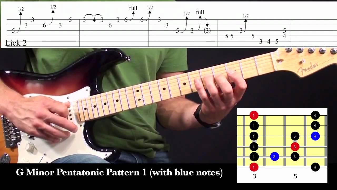 Stevie Ray Vaughan Texas Flood Guitar Lesson 1/4