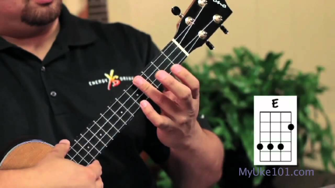 Ukulele chords the e chord on the ukulele youtube hexwebz Gallery