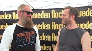 In Flames Interview - Bjorn Gelotte - Sweden Rock Festival 2018 (Eng subs)