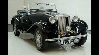MG TD Roadster 1952 -VIDEO- www.ERclassics.com