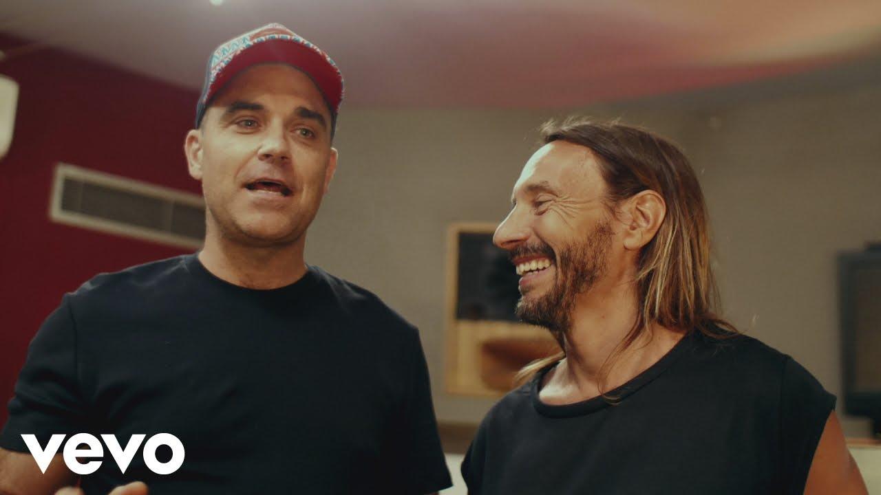 Bob Sinclar, Robbie Williams - Electrico Romantico (Studio Session)