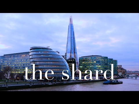 South Bank London Vlog : The Shard, London's Tallest Building