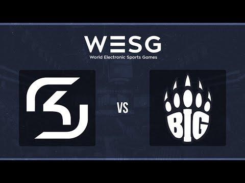 WESG 2017 World Finals - SK Gaming vs. BIG (Train) - Narração PT-BR