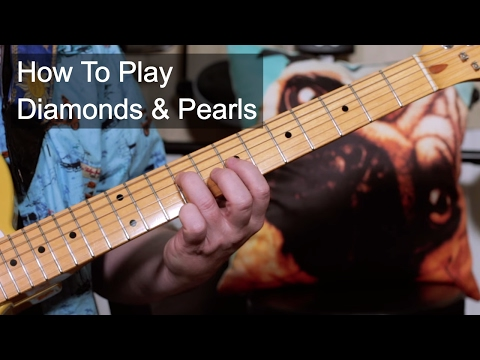 'Diamonds & Pearls' Prince Guitar Lesson