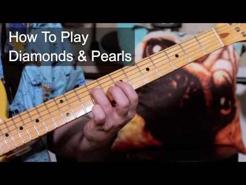 'Diamonds & Pearls' Prince Guitar Lesson