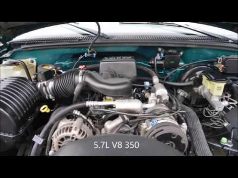 1998 CHEVROLET SILVERADO 1500 EXT CAB 5.7L Z71 4X4 1 OWNER ...