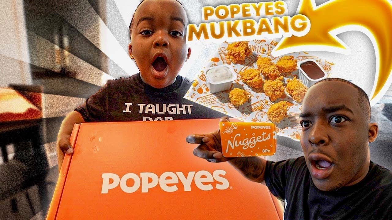 We Tried The New Popeyes Chicken Nuggets Against Mcdonald's & ChickFilA Nuggets   WHICH IS THE BEST?