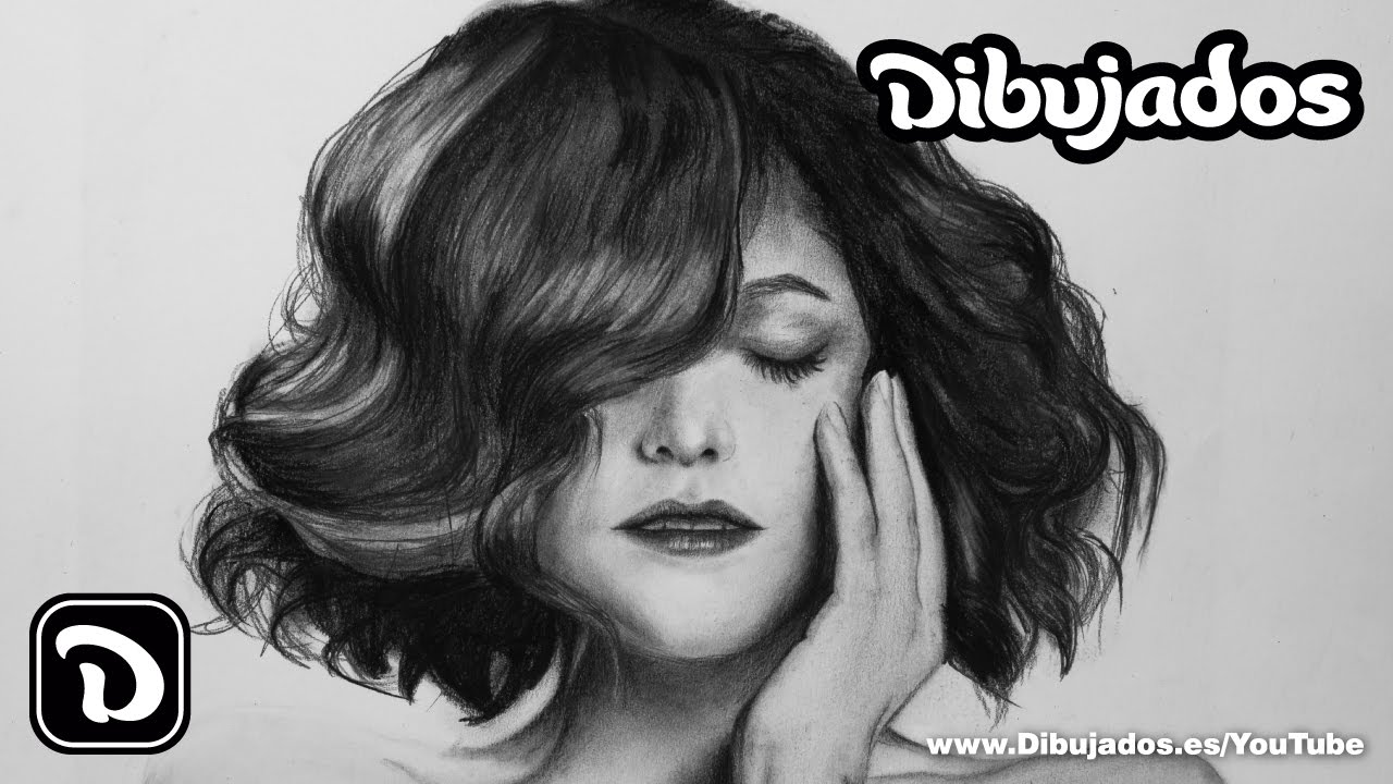 How To Draw Realistic Hair With Pencil And Charcoal Step By Step