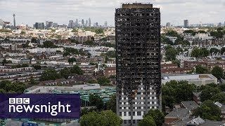 Grenfell tragedy exposes differences in local fire response - BBC Newsnight