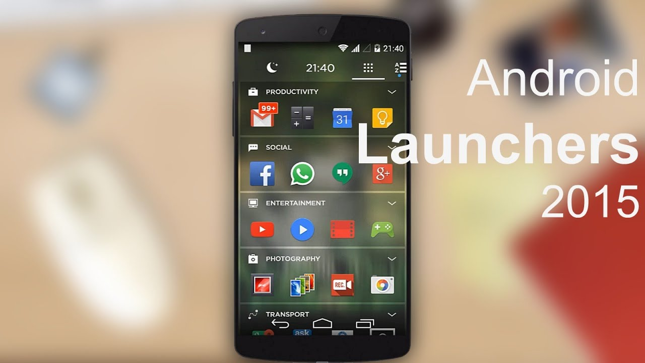 Phone Best Android Phone Launchers best launcher for android top 5 youtube