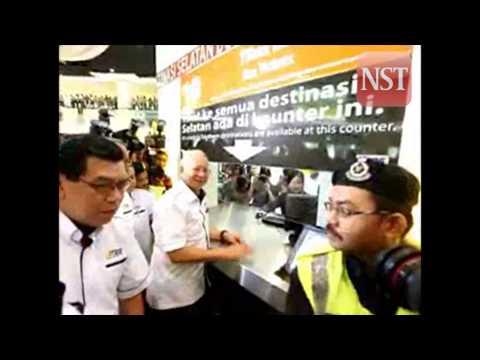 PM officially launches the TBS (Terminal Bersepadu Selatan)