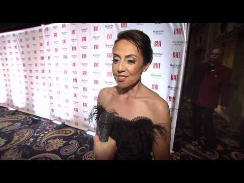 Delia Orjuela Interview - The 2011 BMI Latin Awards