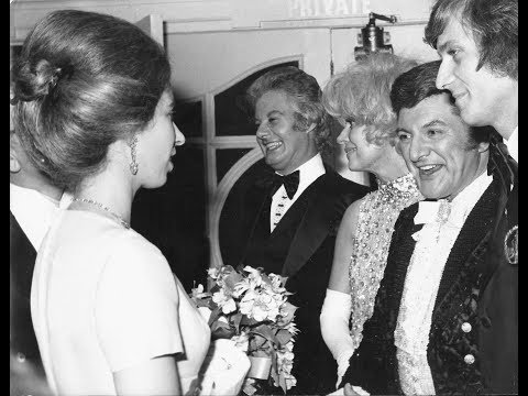 Liberace at The Royal Variety Performance (October 30, 1972)