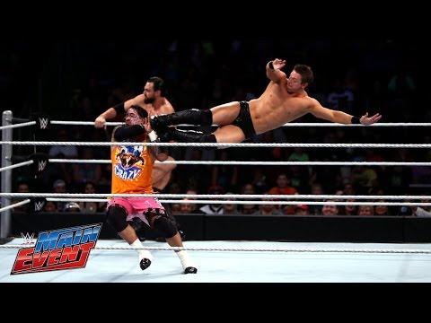 The Usos vs. The Miz & Damien Mizdow: WWE Main Event, October 28, 2014