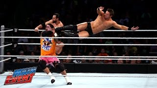 The Miz & Damien Mizdow challenge The Usos in a sequel to their enc...
