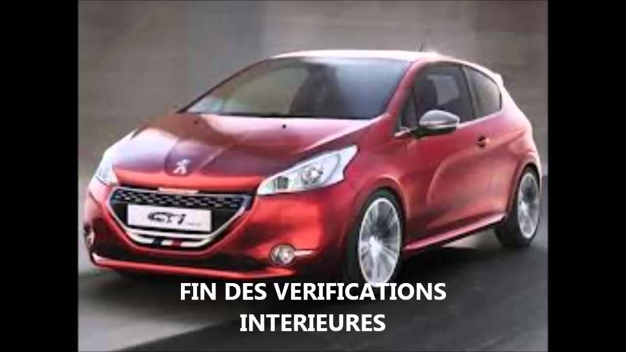 Super Video Verifications Interieures Et Exterieures 208 Les Bonus